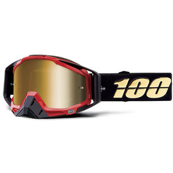 Masque Racecraft Hot Rod Mirror True Gold Lens 100%