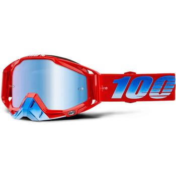 Masque Racecraft Kuriakin Mirror Blue Lens 100%