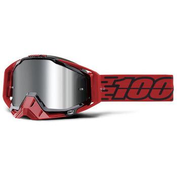 Masque Racecraft + Toro Mirror Silver Lens 100%
