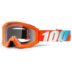 Masque Strata Orange Clear Lens 100%