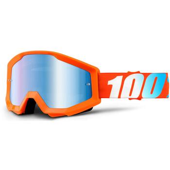Masque Strata Orange Mirror Lens 100%