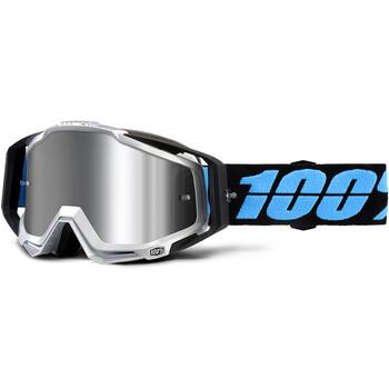 Masque Racecraft + Daffed Mirror Silver Lens 100%