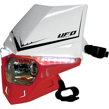 Plaque de phares Stealth feu coloré double UFO
