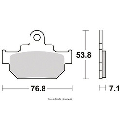 PLAQUETTE SIF PLAQUETTE S1089N Sifam