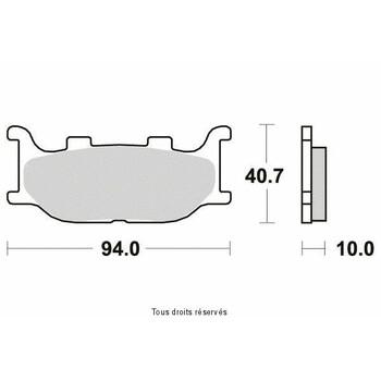 Plaquettes de frein S1109N Sifam