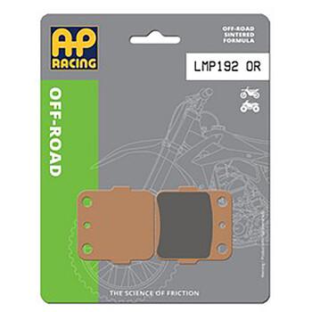 Plaquettes de frein LMP192OR AP Racing