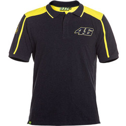 Polo Dark Melange Grey VR46