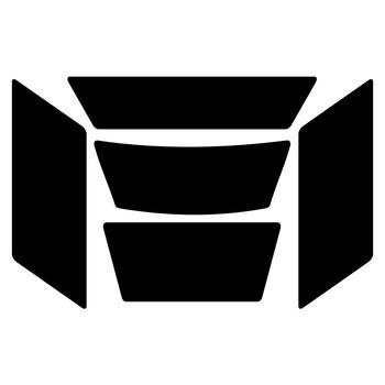 Réflecteur Casque Dafy Moto
