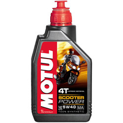 Huile 4T Scooter Power 5W40 1L Motul