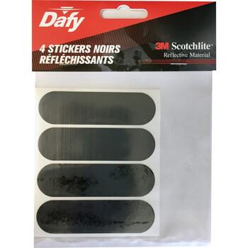 4 stickers réfléchissants Dafy Moto