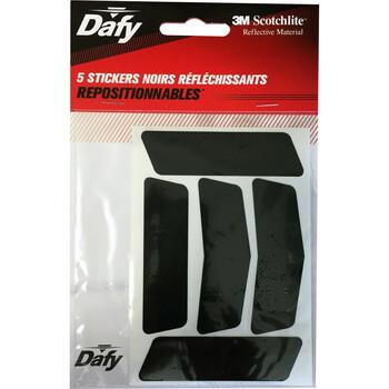 5 stickers réfléchissants Dafy Moto