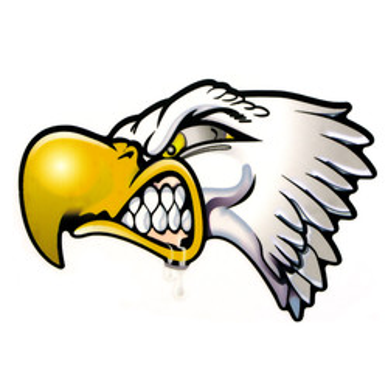 Sticker Eagle Print