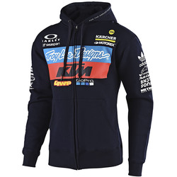Sweat Zippée Team KTM Zip Up Troy Lee Designs