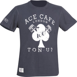 T-shirt Ace Café Ton Up Red Torpedo
