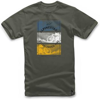 T-shirt Burnt Alpinestars