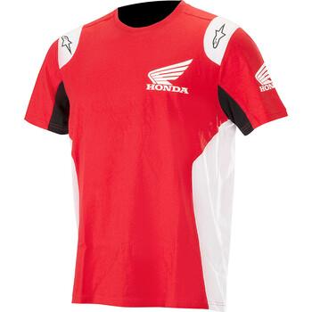 T-shirt Honda Alpinestars