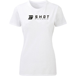 T-shirt femme White Team 2.0 Shot