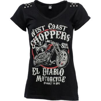 T-shirt Femme El Diablo West Coast Choppers