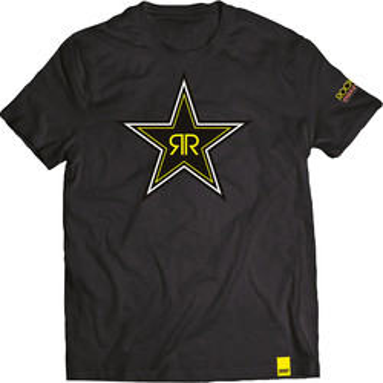 T-shirt Rockstar Black Star Shot