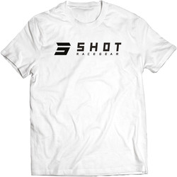 T-shirt White Team 2.0 Shot