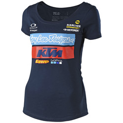 T-Shirt Team KTM Womens Tee Troy Lee Designs
