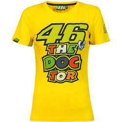 T-shirt Woman Yellow VR46