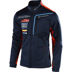 Veste Zippée Team KTM Pit Polar Troy Lee Designs
