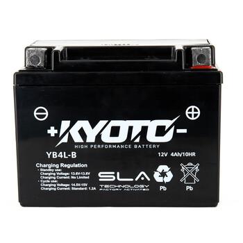 Batterie YB4L-B SLA AGM Kyoto