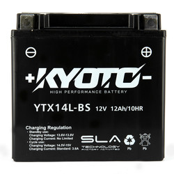 Batterie YTX14L-BS SLA Kyoto