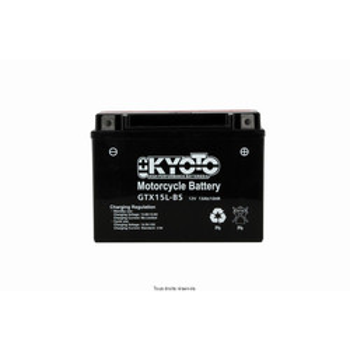Batterie Ytx15l-bs - Ss Entr. Acide Kyoto