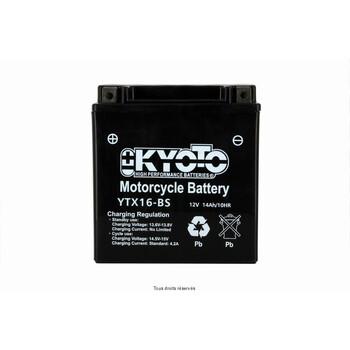 Batterie Ytx16-bs - Ss Entr. Acide Kyoto
