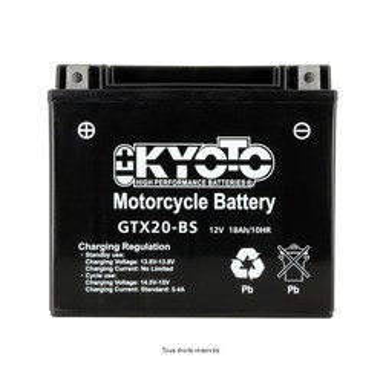 Batterie Ytx20-bs - Ss Entr. Acide Kyoto