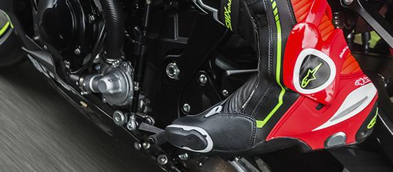 Soldes bottes moto