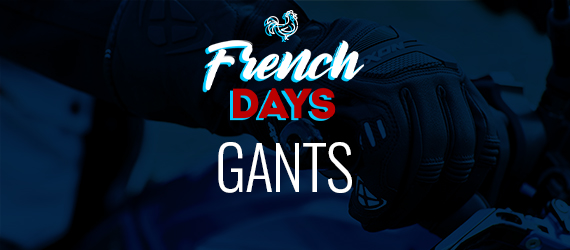 gants moto french days