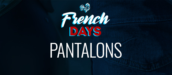 Pantalons moto French Days