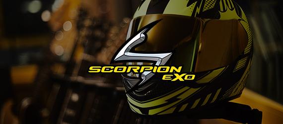 Nouvelle collection casque Scorpion